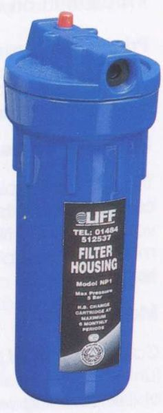 Liff NP1 Standard Water Filter Housing - 76001043